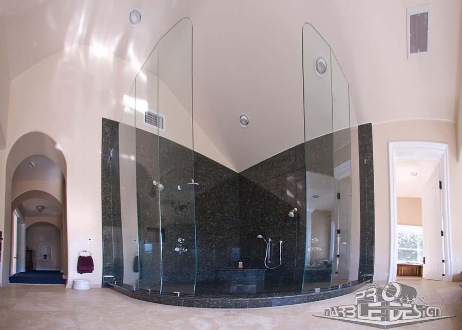 Green Granite Showers : Bath marble granite shower