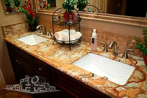 Double Bathroom Vanities on Bathroom Marble And Granite   Serving Los Angeles County  California