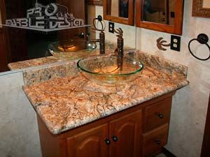Bathroom Marble Vanity Granite