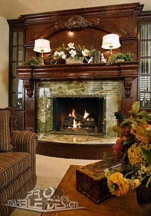 Fireplace Mantels Wet Bars Marble And Granite Serving